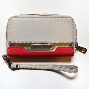 Vince Camuto Color Block Saffiano Leather Wallet